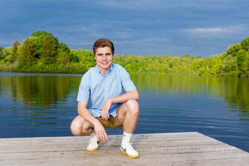 Ryan - High School Senior Portrait - Hudson High School, Brian Corrigan Photography, Senior Portrait Photographer, Senior Portrait Photography, Senior Portrait, Hudson OH, Hudson Springs Park, Lake, Hudson Portrait Photographer, Akron Portrait Photographer, Cleveland Portrait Photographer,